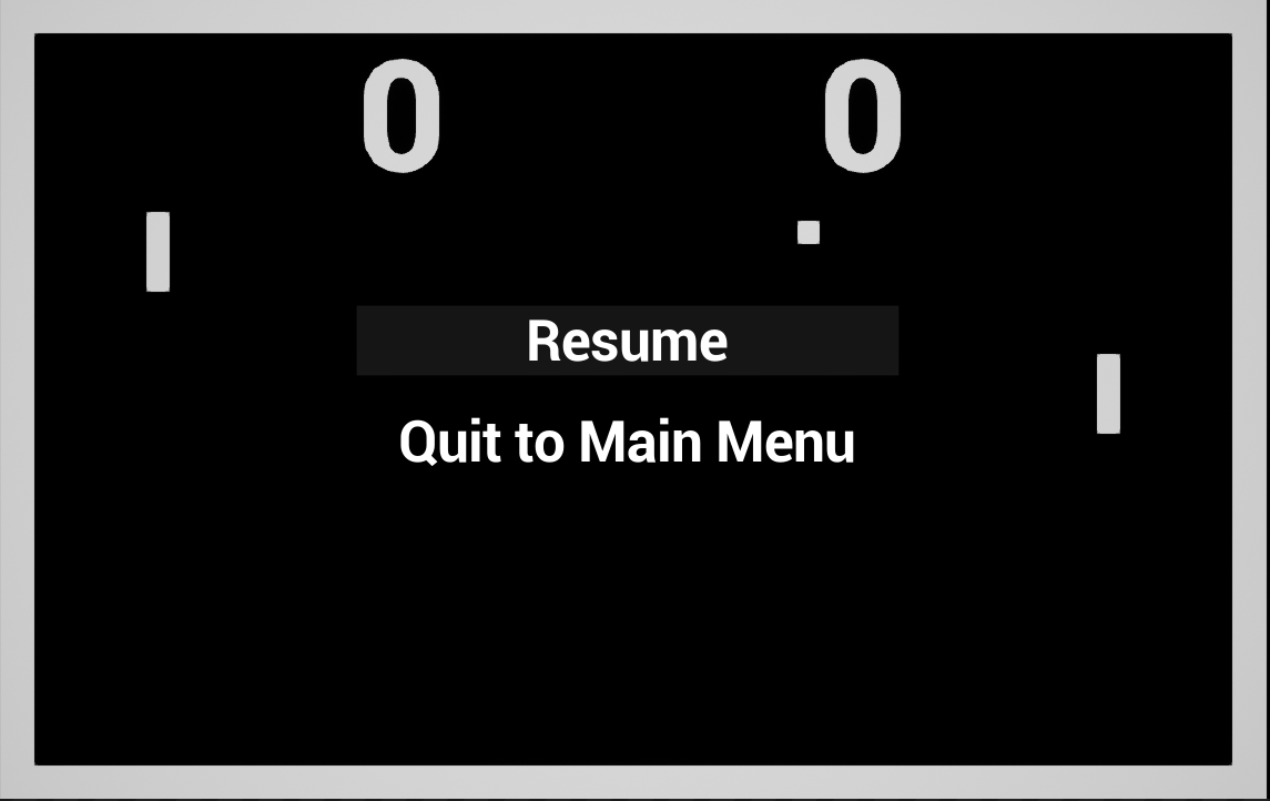 Pong in c pause menu guronzor this menu is called from a blueprint event onpauserequest called when the player presses p m or esc this event is declared in ponggamemodeh malvernweather Choice Image